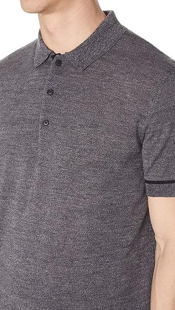 Club Monaco Merino Tipped Polo Shirt