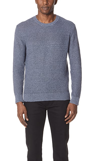 Club Monaco Linen Stitch Crew Neck Sweater