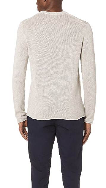 Club Monaco Linen Crew Neck Sweater