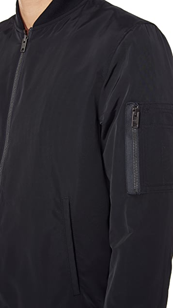 Club Monaco MA 1 Bomber Jacket