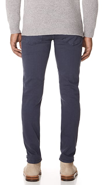 Club Monaco Super Slim Steel Jeans