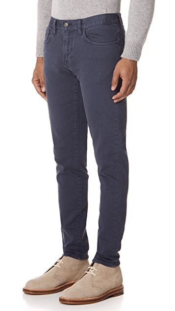 Club Monaco Super Slim Steel Jeans
