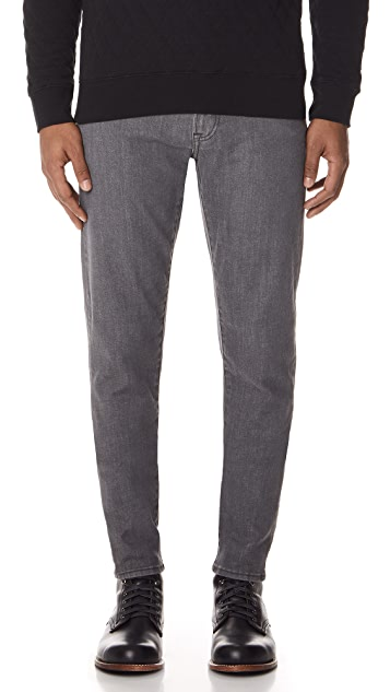 Club Monaco Super Slim Gray Jeans