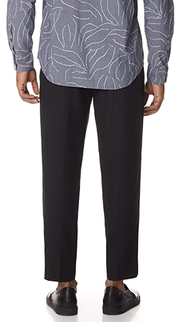 Club Monaco Piping Trousers