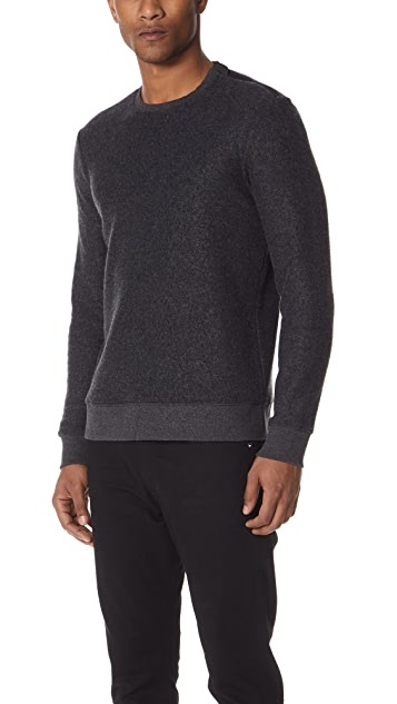 Club Monaco Shoulder Zip Sweater
