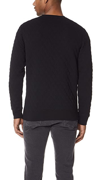 Club Monaco Diamond Quilt Pullover