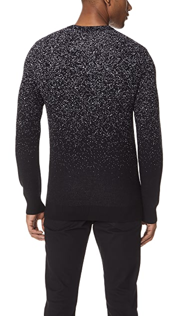 Club Monaco Splatter Crew Sweater