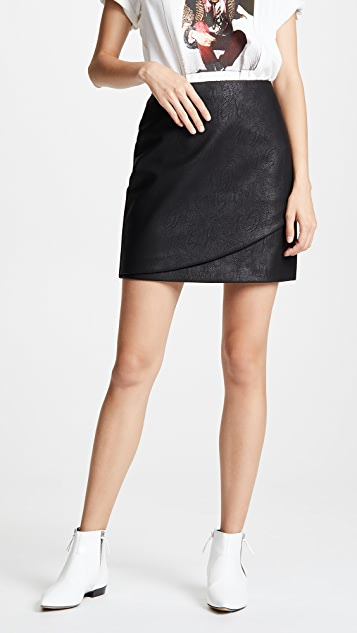 Club Monaco Falleece Skirt