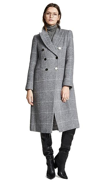 Club Monaco Jemma Plaid Coat