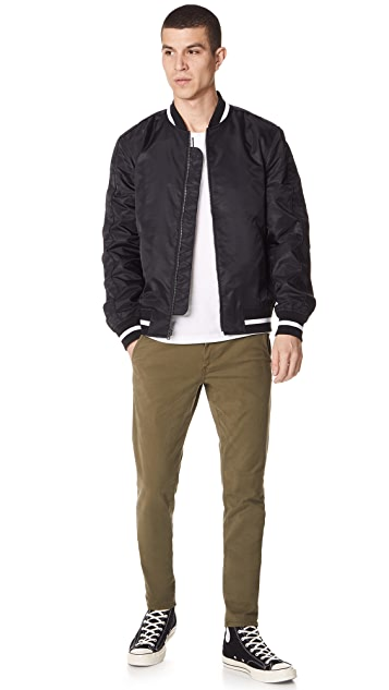 Club Monaco Bomber Jacket