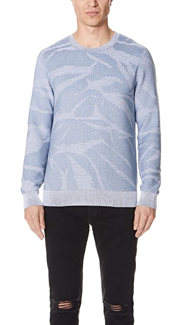 Club Monaco Brushstroke Textured Sweater