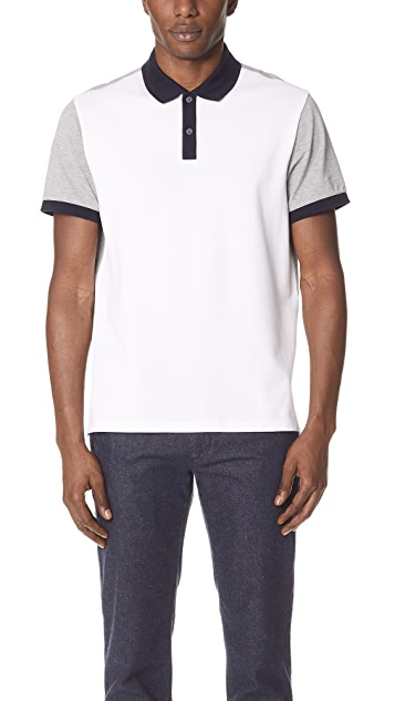 Club Monaco Colorblock Polo
