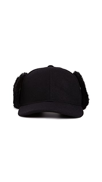 Club Monaco Shearling Trapper Cap