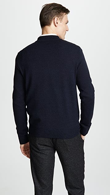 Club Monaco Merino Quarter Zip Sweater