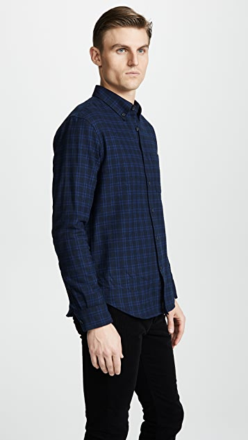91b200a7cc ... Club Monaco Jaspé Check Flannel Shirt ...