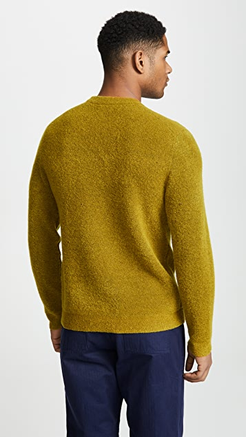 Club Monaco Boucle Crew Neck Sweater