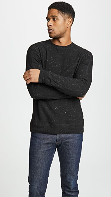 Club Monaco Donegal Duofold Crew Neck Pullover
