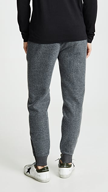 Club Monaco Brushed Zip Sweatpants