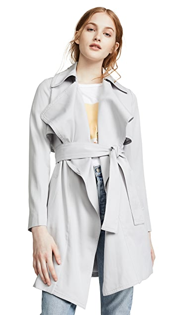 Club Monaco Claudine Trench Coat