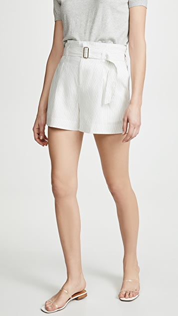 Club Monaco Darcee Stripe Shorts