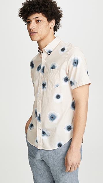 Club Monaco Button Down Morning Glory Shirt