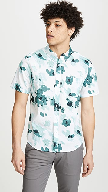 Club Monaco Button Down Georgia Floral Shirt