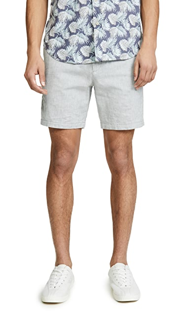 Club Monaco Baxter Chambray Shorts