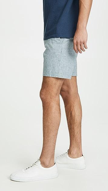 Club Monaco Baxter Chambray Shorts