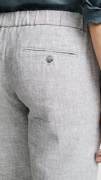 Club Monaco Lex Linen Trousers