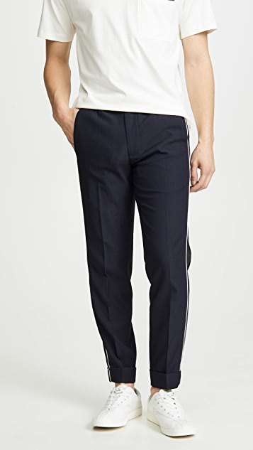 Club Monaco Piping Elastic Pants