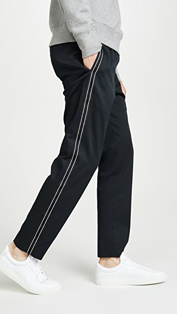 Club Monaco Elasticated Side Tape Pants