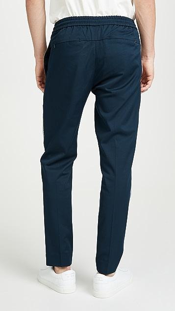 Club Monaco Elasticated Side Tape Pants