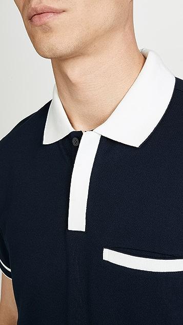Club Monaco Welt Pocket Polo Shirt