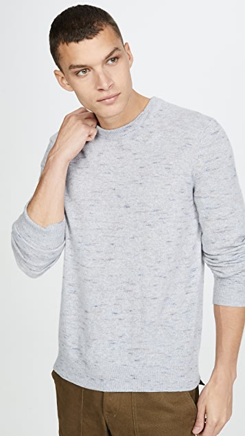 Club Monaco Cash Coverlock Crew Sweater
