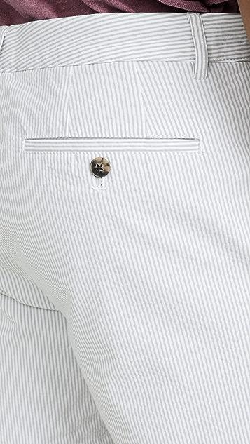 Club Monaco Baxter Stripe Shorts