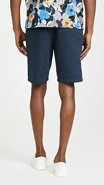 Club Monaco Maddox Pattern Shorts