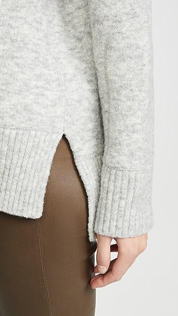 Club Monaco Свободный свитер с воротником под горло