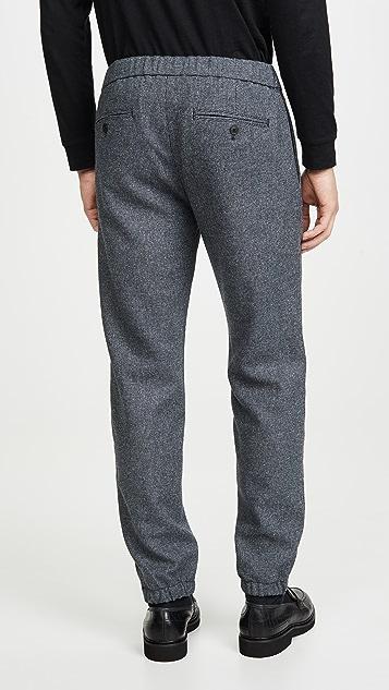Club Monaco Lex Micro Houndstooth Trousers