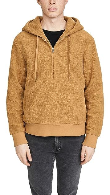 Club Monaco Cozy Sherpa Sweatshirt