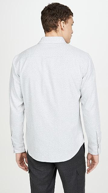 Club Monaco Long Sleeve Jaspe Shirt