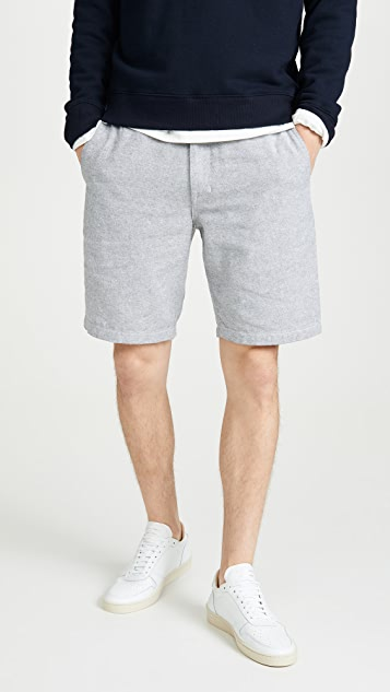 Club Monaco Maddox Linen Beach Shorts