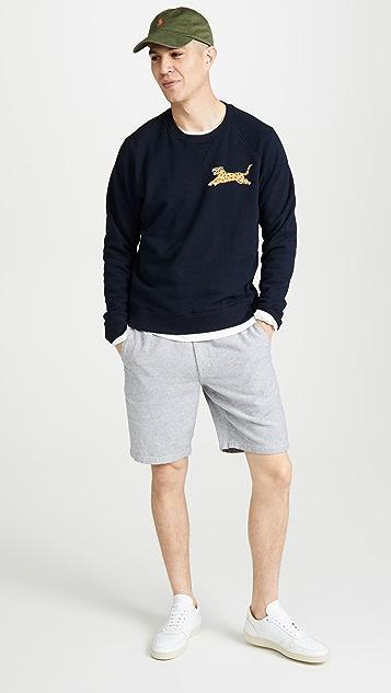 Club Monaco Maddox Linen Beach Shorts