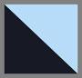 темно-синяя основа/цвет морской волны