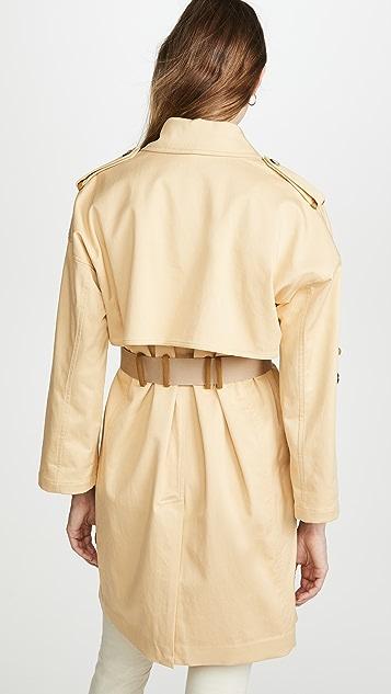 Club Monaco ADJ Sleeve Trench Jacket