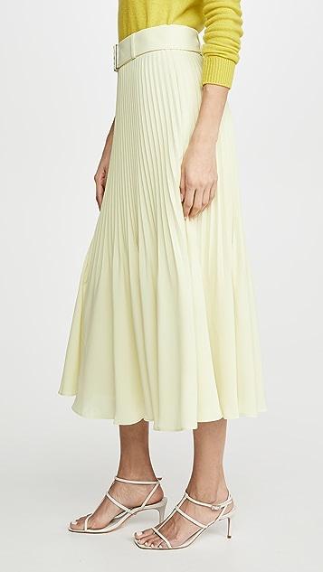 Club Monaco 可折叠褶皱半身裙