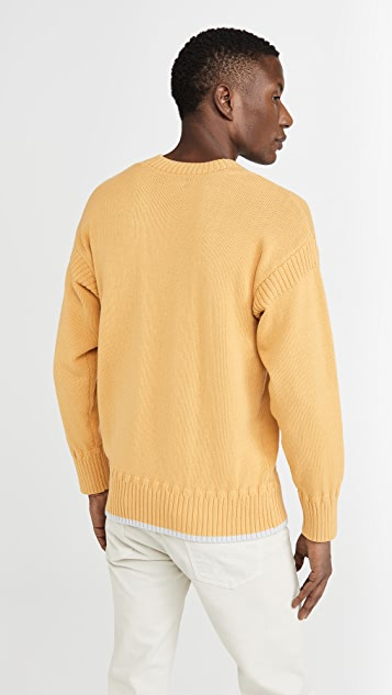 Club Monaco Guernsey Sweater
