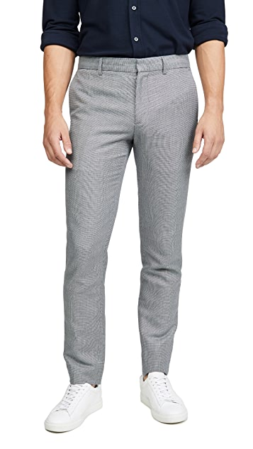 Club Monaco Sutton Texture Pattern Pants