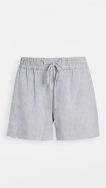 Club Monaco 绳索绑带短裤