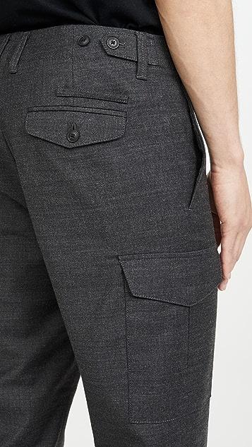 Club Monaco Wool Cargo Pants