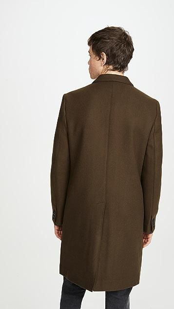Club Monaco Double Breasted Coat